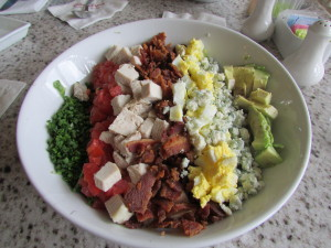 The famous Grand Cobb Salad.